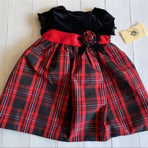 Baby girl Christmas Holiday Party Dress